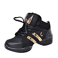 Non Customizable Kids' Dance Shoes / Modern Boots / Sneakers Flat Heel Outdoor / Performance Black