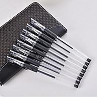 Toll Toll Gél tollak Toll,Műanyag Hordó Fekete Ink Colors For Iskolai felszerelés Irodaszerek Csomag