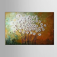 Hand-Painted Abstract Flower Thick Knife Oil Painting on Canvas Wall Art Contempory Color Home Deco Ready to Hang