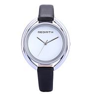 Damen Modeuhr / Armbanduhr Quartz / PU Band Bequem Schwarz / Weiß Marke