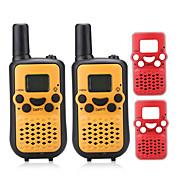 T899BR Walkie-talkie 0.5W 8 Channels 400 - 470 MHz AAA alkaline battery 3 Km - 5 Km VOX / Display LCD / Monitor / Mostra tutti N/A
