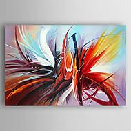 Kézzel festett Absztrakt Festmények,Modern Egy elem Vászon Hang festett olajfestmény For lakberendezési