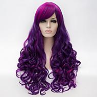 cosplay περούκα άνεμος lolita lolita πολλαπλών χρώμα κλίση περούκα καθημερινά περούκα συνθετικές περούκες
