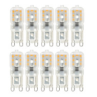 YWXLight® 10 pcs Dimmable 4W G9 LED  Lights 14 SMD 2835 300-400lm Warm/Natural/Cool White AC 220/110V