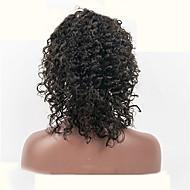 """10 """"-26"""" פאות תחרה שיער מתולתל פאות שיער בתולה ברזילאי 100% תחרה שיער אדם"""
