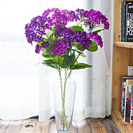 Hi-Q 1Pc Decorative Flowers Hydrangeas Wedding Home Table Decoration Artificial Flowers