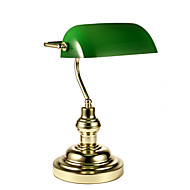 40W Modern/Comtemporary Desk Lamps , Feature for Eye Protection , with Gold Use On/Off Switch Switch