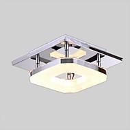 8W dovelo akril ugradnju, 1 svjetlo, moderni akril galvansko nehrđajućeg čelika