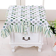 Small Leaves Cloth Art Rural Bedside Table Cloth60*60cm