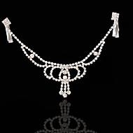 Dame Legering Medaljon-Bryllup Speciel Lejlighed Pandekæde 1 Stykke