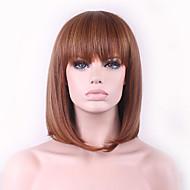 nowe cos wig brązowy kolor mieszanki klamra bobo krótką perukę ciągu 12 cali