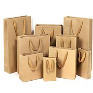 sacos de papel kraft saco de roupa saco do presente saco sacos sacos universais de publicidade sacos de personalização de um pacote de