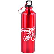 丰途 רכיבה על אופניים / אחרים בקבוקי מים סגסוגת אלומיניום קל במיוחד (UL) / עבה אחרים אחרים 500 שחור / כסף / אדום / כחול