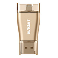 EAGET I50 32G USB3.0/Lightning OTG Mini Flash Drive U Disk for iPhones, iPads, Mac/PCs