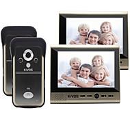 Kivos kdb700 campainha visual sem fio plug doméstico no bloqueio de monitoramento de câmera elétrica