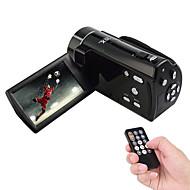 Ordro original® v7 digitalt videokamera / camcorder 16x digital zoom 3,0 tommer TFT-LCD-skærm anti-shake smil capture