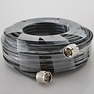 20M Cable 50ohms N Male to N Male 5D High Quality Coaxial Cable for Cell Phone Signal Repeater Booster and Antennas
