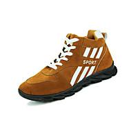 Sneakers-Stof-Komfort-Herre-Blå Khaki-Fritid-Flad hæl