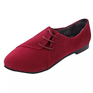 Women's Sneakers Spring / Fall / Winter Comfort Fleece Outdoor / Casual Flat Heel Lace-up Others