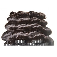 hot sale brazilian body wave virgin hair 400g 8bundles lot for one full head 7a grade 100% human hair extensions weave dark black brown color