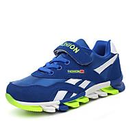 Unisex Sneakers Spring / Summer / Fall / Winter Slide Suede Outdoor / Athletic / Casual Flat Heel Split Joint Black