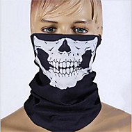 halloween party koponya koponya maszk fekete motoros többfunkciós fejvédő sapka sál a nyak mozgását néz szörnyű