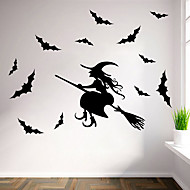Halloween Wall Stickers  Decorative Wall Stickersvinyl Material Re-Positionable Home Decoration Wall Decal
