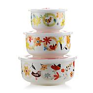 1ks náhodný barva kuchyňské uchování tepla pro dospělé žáruvzdorné keramiky velkokapacitní Bento box