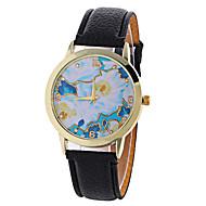 Women's Fashion Analog Snowflake Ladies' Christmas Display Strap Bohemia Quartz Wrist Watch