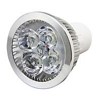 8W GU10 LED szpotlámpák MR16 4LED Nagyteljesítményű LED 750LM lm Meleg fehér / Hideg fehér Dekoratív AC 85-265 V 1 db.