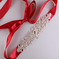 Sateng Bryllup Fest/aften Hverdag Bånd-Perler Rhinstein Imitert Perle Dame 98.5 tommer (ca. 250cm) Perler Rhinstein Imitert Perle