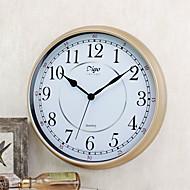Vintage Wall Clock Round Shape Plastic Case 15 inch Indoor Clock