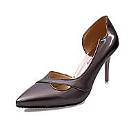 Femme Chaussures à Talons Confort Polyuréthane Automne Décontracté Confort Talon Aiguille Argent Rose Bronze 7,5 à 9,5 cm