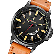 CURREN® watch men relogio masculino military watch sports waterproof leather mens watch quartz watch wristwatch