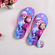 Boy's Slippers & Flip-Flops Spring / Summer / Fall Platform Rubber Outdoor Flat Heel Ribbon Tie / Pink / Purple / Red /