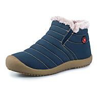 Masculino-Botas-Conforto Botas de Neve-Rasteiro-Azul Cinza-Algodão Tecido-Ar-Livre
