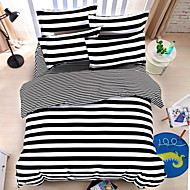 Cvijetan Poplun Cover Sets 4 komada Polyester Uzorak Reactive Print Polyester Bračni 1pc duvet Cover / 2kom Shams / 1pc Stan list