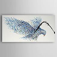 מצויר ביד בעלי חיים ציורי שמן,מודרני פנל אחד בד ציור שמן צבוע-Hang For קישוט הבית