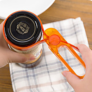 1 Gadget de Cozinha Criativa / Aderência conveniente Abridores de Lata Plástico Gadget de Cozinha Criativa / Aderência conveniente