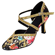 Sapatos de Dança(Outro) -Feminino-Personalizável-Latina / Moderna