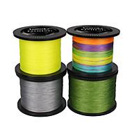 Anmuka Brand PE Braided Fishing Line 8 strands 1000M/1100Yards/500M/550Yards SuperPower Green/White/Yellow Gray Smooth