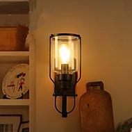 amerikai retro vas üveg falilámpa fali lámpa