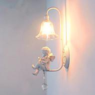 미국 현대 간단한 유럽 스타일의 거실 발코니 침실 머리맡 램프 창조적 인 통로 벽 천사