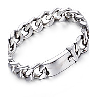 Kalen®2016  Silver Link Chain Bracelet Fashion 316L Stainless Steel Biker Chain Bracelets  Male Accessories s Christmas Gifts
