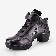 Non Customizable Women's Dance Shoes Leather  Dance Sneakers / Modern Boots / Sneakers Low Heel Practice
