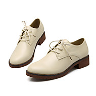 Women's Oxfords Spring / Fall / Winter Mary Jane PU Casual Low Heel Others Black / Brown / White Others