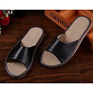 Unisex Clogs & Mules Spring / Summer / Fall Comfort PU Casual Flat Heel