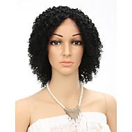 """10 """"פאות שיער אדם קצר פאה מתולתלת נשים ברזילאית בתולת שיער אופנת קינקי צבע טבעי מתולתל"""