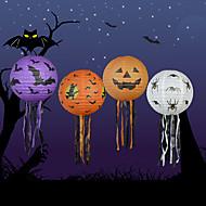 4kpl halloween kurpitsa paperi lyhty halloween tarvikkeita koriste rekvisiitta kummitustalo kohtaus kurpitsat paperilyhtyjen