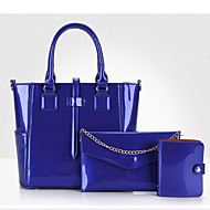 Women Patent Leather Casual / Event/Party / Outdoor / Shopping Bag Sets